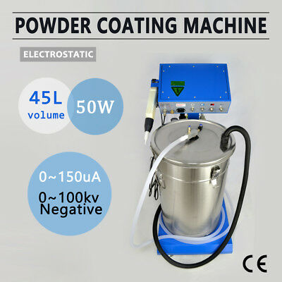 110/220V Wx-958 Powder Coating System With Spraying Gun Electrostatic Machine