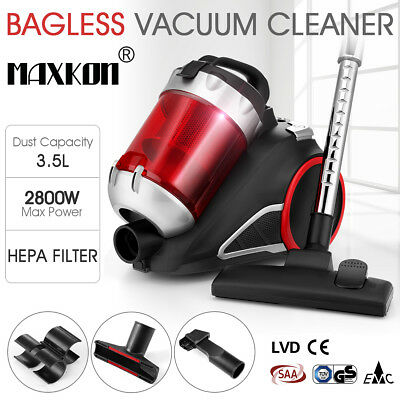 3.5L Bagless Vacuum Cleaner Cyclonic Cyclone with HEPA Filter Filtration System