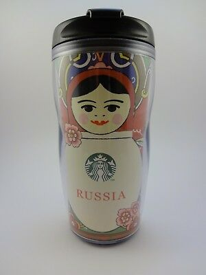 Starbucks tumbler Matryoshka Russia 237 ml, NEW. Direct from Russia!