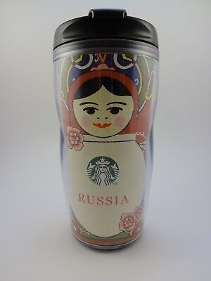 Starbucks tumbler Matryoshka Russia 355 ml, NEW. Direct from Russia!
