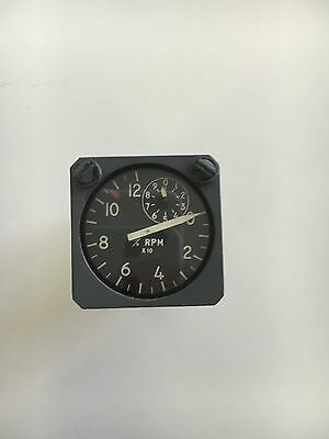 """Aircraft Boeing ? Airbus ? Instrument Indicator Annunciator *As Removed"""" RPM %"""