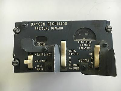Aircraft Boeing B-727 747 DouglasDC-10 Panel Annunciator *As Removed* Oxygen....