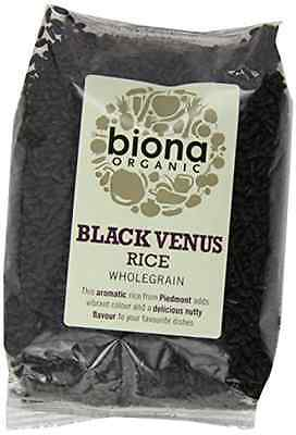 Biona Organic Black Venus Rice 500g 3 Pack Aromatic Wholegrain Delicious Nutty