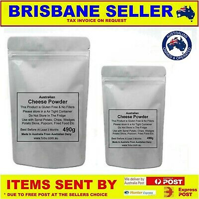 CHEESE POWDER PURE 490g  MAKE YOUR OWN SEASONINGS SPIRAL POTATOES & SAUCES