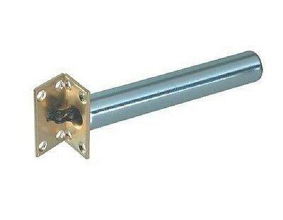Concealed Internal Door Closer Chain Spring FIRE RATED Nickel Tubular