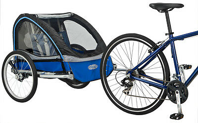 Instep Rocket Twin Seat Childrens Bicycle Bike Trailer Buggy New Rrp £179.99!!
