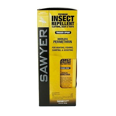 Sawyer SP649 Premium Insect Repellent. Clothing, Gear & Tents. 12FL.OZ / 370ml