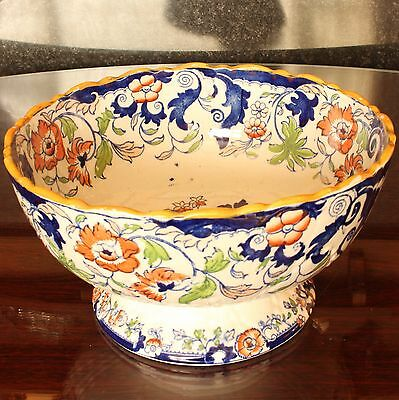Minton AMHERST JAPAN Pattern Footed Bowl