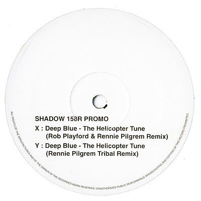"""Deep Blue – The Helicopter Tune (Remixes) 12"""" MOVING SHADOW PROMO"""