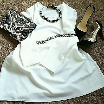 Ladies abaya size 56 modest white