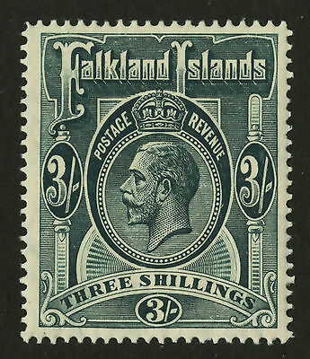 Falkland Islands  1912-14  Scott # 36  Mint Hinged