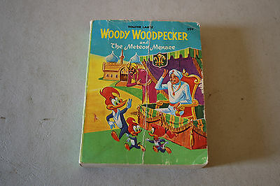 Woody Woodpecker and The Meteor Menace by Walter Lantz A Big Little Whitman Book