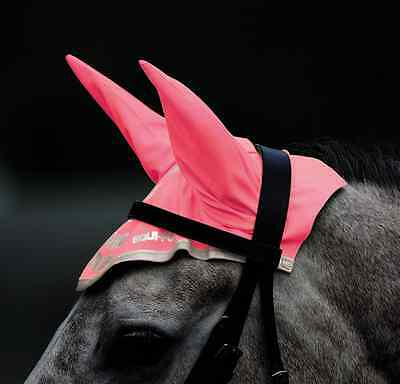 Equi-Flector Fly Veil - Bright Pink