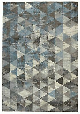 NEW Pira Modern Blue Rug