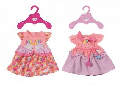 New Zapf Creation Baby Born Doll Dress Outfit Clothes Pink