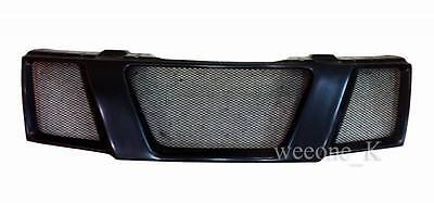 Black Front Grill Grille Use For Nissan Frontier Navara D40 Pickup 2005 - 2014