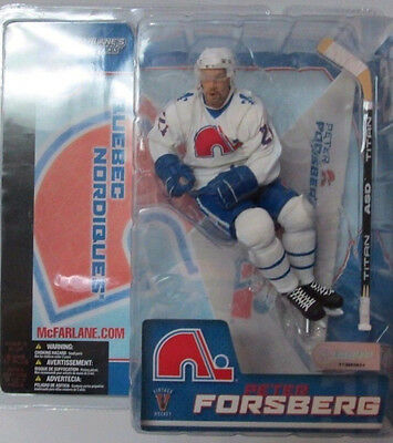 McFarlane  Peter Forsberg Variant Figur Nordiques White Jersey NHL Series 7