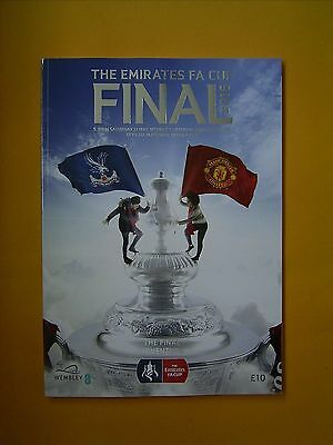 The Emirates FA Cup Final - Crystal Palace v Manchester United - 21st May 2016