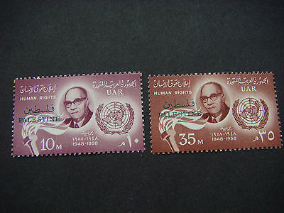 1958 10th Anniversary of The Declaration of Human Rights SG 98-99