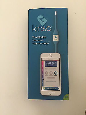 Kinsa Smart Thermometer Fast and Accurate Use KIDS BABY