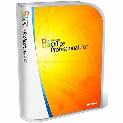 Microsoft Office Professional 2007 Full Version 3 Pc