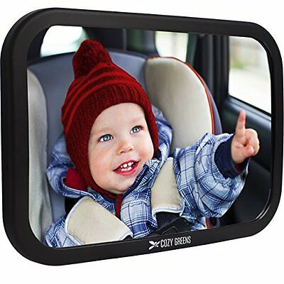 Cozy Greens® Baby Car Mirror | Back Seat Rear-facing Infant In Sight
