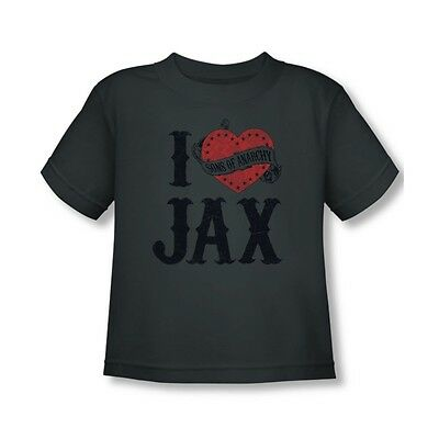 Sons Of Anarchy I Heart Jax Toddler T-Shirt