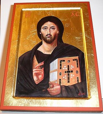 Ikone Jesus Christus von Sinai icon Christ icone икона icono  Ikona Pantokrator