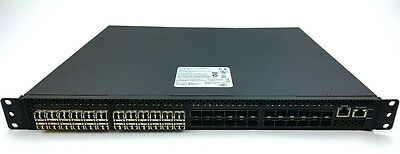 Quanta LB8 1U height 10Gb 48 port switch w/ 24 x Finisar 10Gbps Transceivers