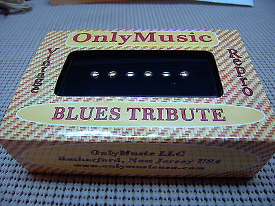 Compatible W/ Dog Ear  P90 Om Blues Tribute Vintage Repro Bridge Pickup