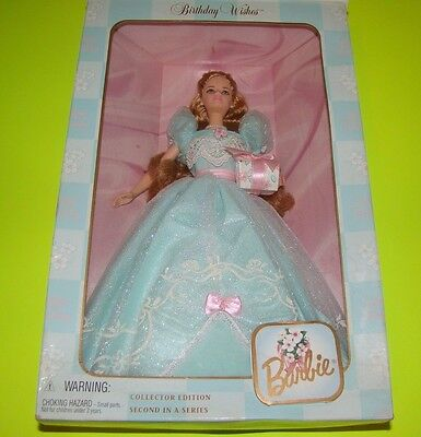 BIRTHDAY WISHES BARBIE 1999  SPECIAL EDITION Free Shipping