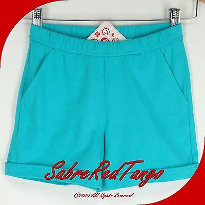 Nwt Hanna Andersson Free Time Shorts Storybook Blue 120 7