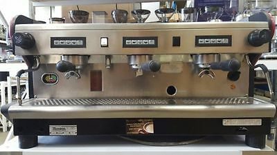 Cheap Second Hand 3 Group Rancilio Commercial Coffee Machine