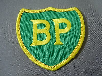"BP - British Petroleum Embroidered Sew On Uniform-Jacket Patch 2 1/2"" Shield"