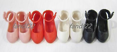 4 color in set *NEW* Takara Jenny Licca High-heeled Shoes Set