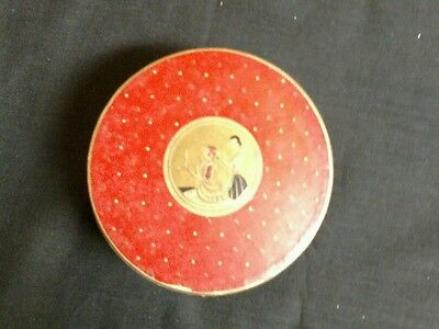 VINTAGE THREE FLOWERS FACE POWDED  by RICHARD HUDNUT