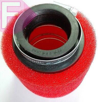 """OD 1 1/2"""" 37-39mm Replace UNIVERSAL 2 STAGE POD AIR FILTER FREE SHIPPING!"""
