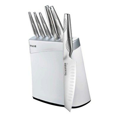 New Baccarat ID3 Arashi Knife Block 7 Piece White