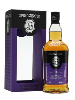 Springbank 18yo Single Malt Scotch Whisky