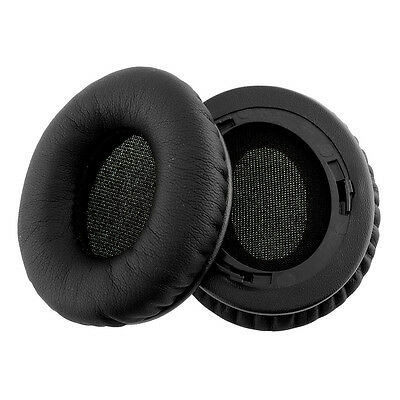 Black 2PCS NEW Earpads Ear Pads For Monster Beats SOLO/SOLO HD Headphones