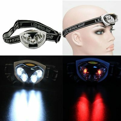 1500LM  Bright 3 Modes 6 LED Head Lamp Light Torch Fishing Headlamp Headlight