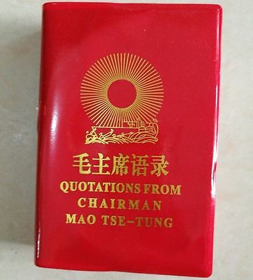 English Chinese Quotations From Chairman Mao Tse-Tung Little Red Book Legal Copy