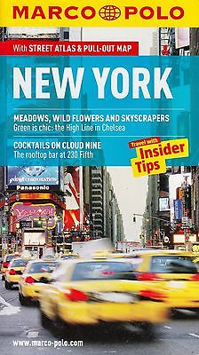 New York Marco Polo Travel Guide BRAND NEW BOOK (Paperback + Pull-out Map 2012)