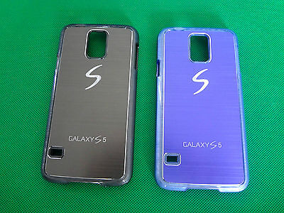 New Phone Case Cover Protector Hard Back - Suits Samsung Galaxy S5 (Two Colors)