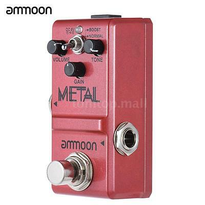 ammoon Nano Series Guitar Effect Pedal Heavy Metal Distortion True Bypass C9M2