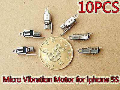10pcs DC 3V Micro Vibration Motor Replacement Part Repair for Apple iPhone 5S