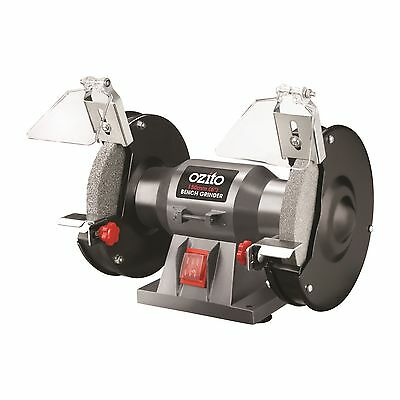 Ozito BENCH GRINDER 150W, OZBG150WA 150mm Wheel, Adjustable Eye Shield AUS Brand