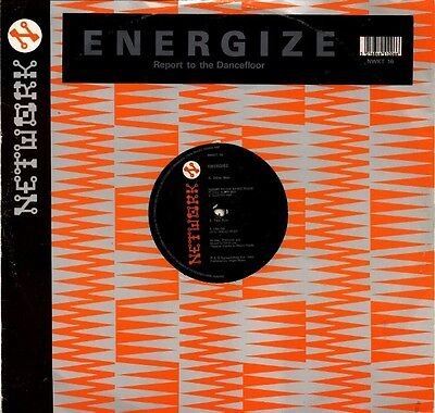 "Energise ‎– Report To The Dancefloor 12"" NETWORK RECORDS"