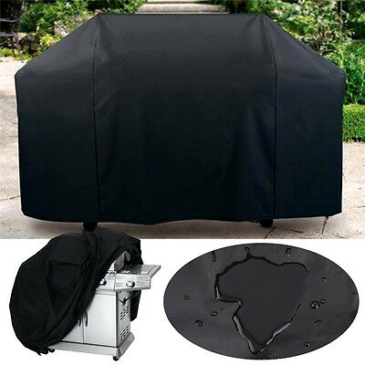 Large Patio BBQ Cover Waterproof Outdoor Garden Barbecue Grill Storage Protector