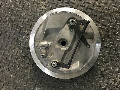 BSA twin leading shoe front brake Triton/Norton